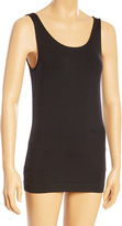 Black Firm Compression Long Shaping Camisole - Plus Too