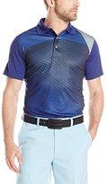 PGA TOUR Men's Golf Pro Series Geo Print Short Sleeve Polo Shirt