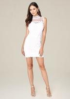 Bebe Donna Laser Cut Dress