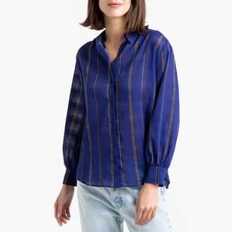 BA&SH Tunisia Striped Cotton Shirt
