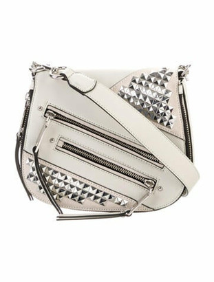 Marc Jacobs Studded Small Nomad Bag Silver