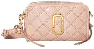 Marc Jacobs The Softshot 21 Crossbody (Black) Handbags