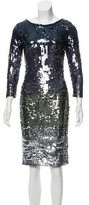 Alice + Olivia Sequin Knee-Length Dress w/ Tags