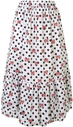 COMME DES GARÇONS GIRL Polka-Dot Print Skirt