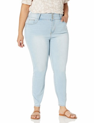 Forever 21 Women's Plus Size High-Rise Skinny Jeans