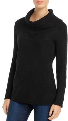 Calvin Klein Diamond Stitched Cowl-Neck Sweater