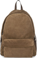 Brunello Cucinelli Suede and leather backpack