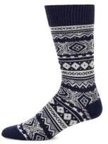 Barbour Fair Isle Patterned Socks