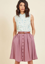 ModCloth Bookstore's Best A-Line Skirt in 3X