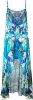 Camilla multi-print maxi dress