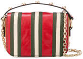 RED Valentino striped chain shoulder bag
