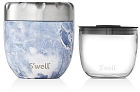 Swell Eats Small Blue Granite Food Storage Set