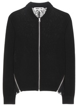 McQ by Alexander McQueen Wool Cardigan With Lace