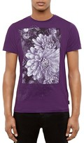 Ted Baker Malvol Floral Graphic Tee