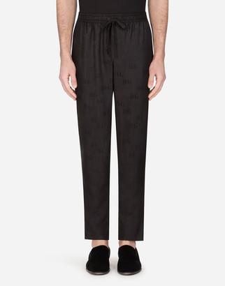 Dolce & Gabbana Silk Jacquard Pajama Pants