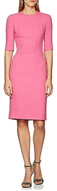 Dolce & Gabbana Women's Cady Sheath Dress - Pink