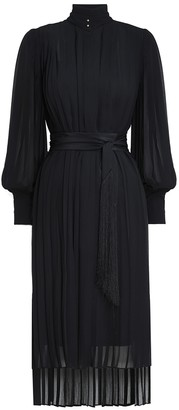 Zimmermann Pleated Midi Dress