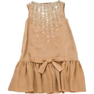 Christian Dior Beige Silk Dresses