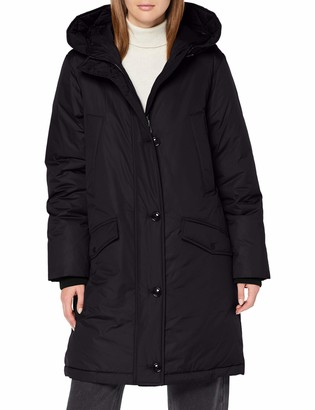 Marc O'Polo Women's 71123 Parka with Down Feather Filling Water-Repellent Jacket Down Coat with Striking Hood