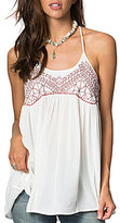 O'Neill Talullah Embroidered Woven Tank Top