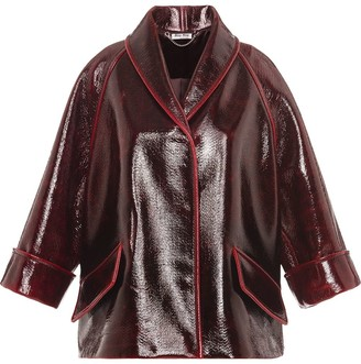 Miu Miu Single-Breasted Coat