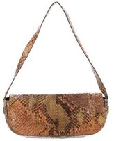 Ungaro Mini Snakeskin Shoulder Bag