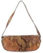 Ungaro Mini Snakeskin Shoulder Bag