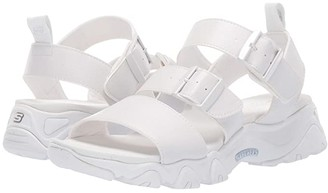 Skechers D'Lites 2.0 - Cool Cosmos (Black/Black) Women's Sandals