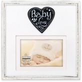 "Malden® ""Baby Love"" 4-Inch x 6-Inch Wood Picture Frame"