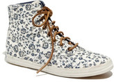 Madewell Keds® x Floral High-Top Sneakers