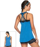 Gaiam Women's Grace Scoopneck Racerback Yoga Tank