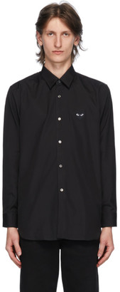 Comme des Garcons Black Heart Patch Shirt