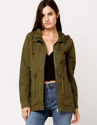 Sky And Sparrow Womens Anorak Jacket