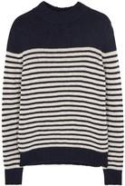 A.p.c. Haddock Striped Wool Blend Jumper