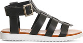Office Brody gladiator faux leather sandals