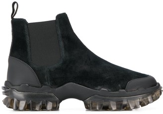 Moncler Panelled Ankle Boots
