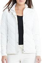 Lauren Ralph Lauren Jersey Quilted Barn Jacket