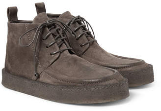 Marsèll Washed-Suede Desert Boots