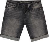 Calvin Klein Slim Short - Black Pearl Denim Shorts