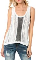 Miss Me White Knit Tank