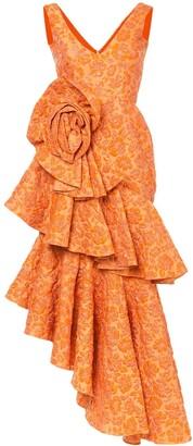 Bambah Zinnia spiral gown