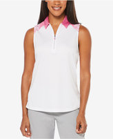 PGA TOUR Collage Sleeveless Polo