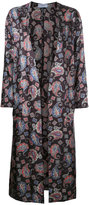 ASTRAET printed long coat - women - Polyester - 0