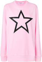 Givenchy star print sweatshirt - women - Cotton - S