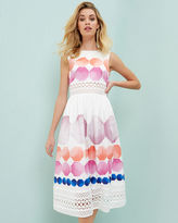 Ted Baker Marina Mosaic crochet dress