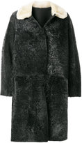 Sofie D'hoore shearling a-line coat