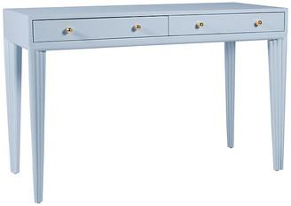 David Francis Furniture Barcelona Desk - Light Blue
