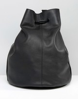 Warehouse Leather Duffle Bag