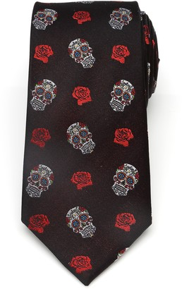 Cufflinks Inc. Cufflinks, Inc. Sugar Skull Silk Tie