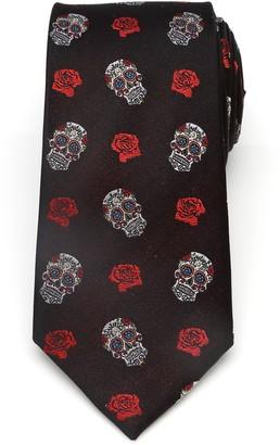 Cufflinks Inc. Sugar Skull Silk Tie